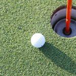 ゴルフに挑戦