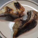 ぶりかまの塩焼きって 案外とずぼら料理だね