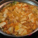 平成最後のお鍋はキムチ鍋?