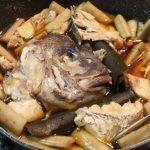 鯛のアラ煮作ってみた