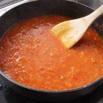 COCOCOROレシピのトマトソース 作ってみた
