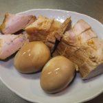たんぱく質不足の解消に焼き豚祭り